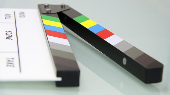 broadcastnews clapping board no budget movie