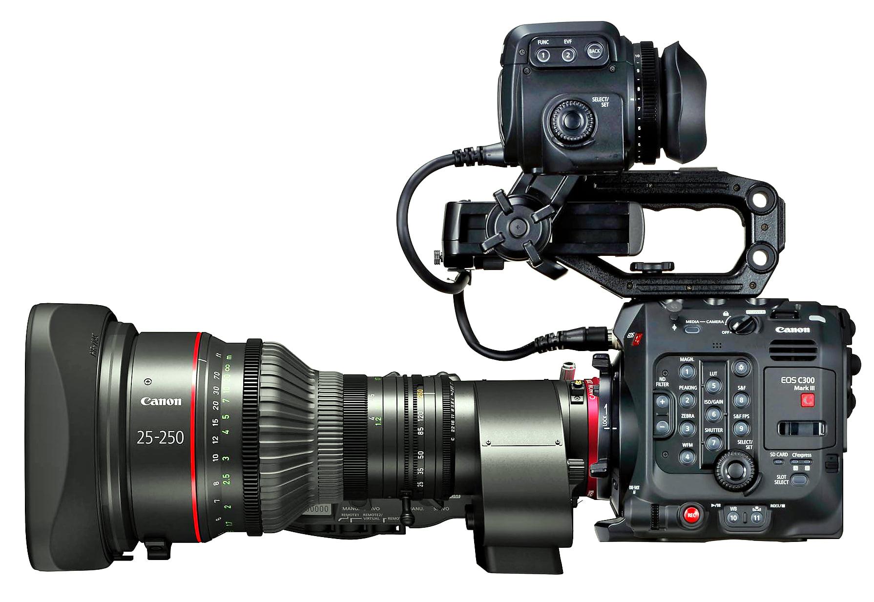 C300 Mk3 το υπερόπλο της Canon