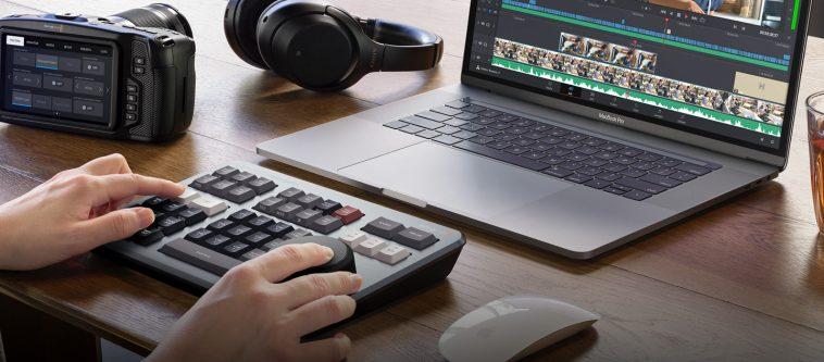 Blackmagic speed editor broadcastnews