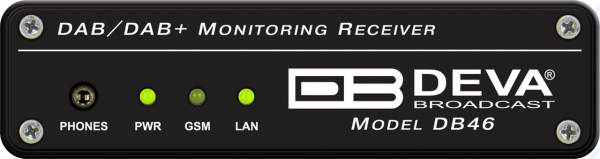 DEVA DB46 Compact DAB Monitoring Receiver 1