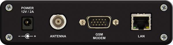 DEVA DB46 Compact DAB Monitoring Receiver back