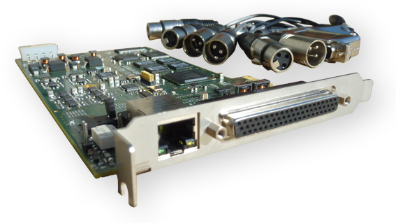 Sound4 PULSE PCIe Card 3 Band Processor